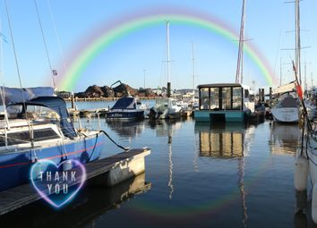 2 bed houseboat for sale in The Yacht Harbour, Fort Road, Newhaven BN9