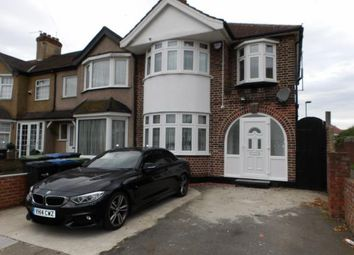 Thumbnail 3 bed end terrace house for sale in Windmill Road, Edmonton, London