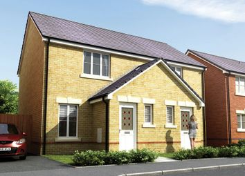Thumbnail 2 bed link-detached house for sale in St Llids Meadow, Pontyclun, Rhondda Cynon Taff