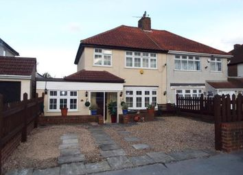Thumbnail 4 bedroom semi-detached house for sale in Overbury Crescent, New Addington, Croydon, Surrey