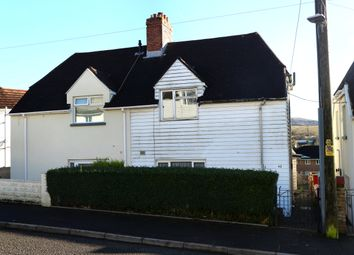 Thumbnail 3 bed semi-detached house for sale in Garden City, Penydarren, Merthyr Tydfil