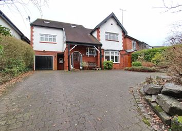 Thumbnail 5 bed detached house to rent in Higher Lane, Whitefield, Manchester