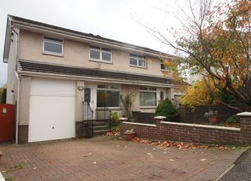 Thumbnail 3 bed semi-detached house to rent in Drumillan Hill, Greenock