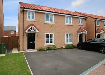 Thumbnail 3 bed semi-detached house for sale in Hall Wood Close, Yarm