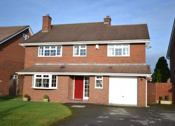 Thumbnail 4 bed detached house for sale in Woodfin Croft, Chelford, Macclesfield