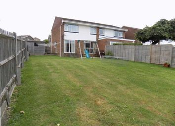 Thumbnail 3 bed semi-detached house for sale in Heighton Crescent, South Heighton, Newhaven