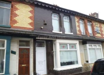 Thumbnail 2 bed terraced house to rent in Gwladys Street, Walton, Liverpool