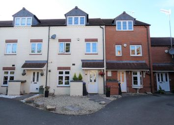 Thumbnail 3 bed town house for sale in Corelli Close, Stratford-Upon-Avon
