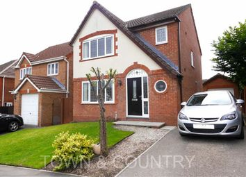 Thumbnail 3 bedroom detached house to rent in Forest Walk, Buckley, Flintshire