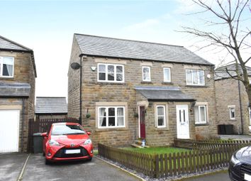 2 bed semi-detached house for sale in Pasture Avenue, Oakworth, Keighley, West Yorkshire BD22
