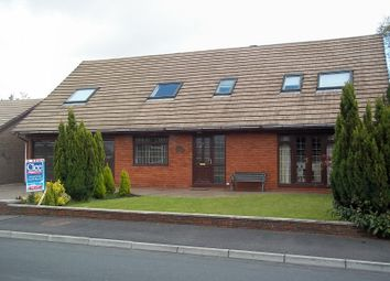 Thumbnail 5 bedroom detached bungalow for sale in 81 Tawe Park, Ystradgynlais, Swansea.