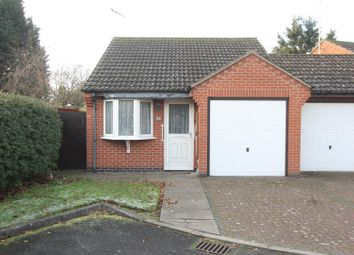 Thumbnail 1 bed detached bungalow for sale in St. Marys Court, Barwell, Leicester