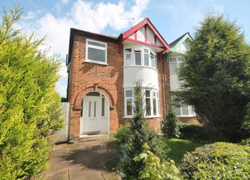 Thumbnail 3 bed semi-detached house for sale in Sandhurst Road, Western Park, Leicester