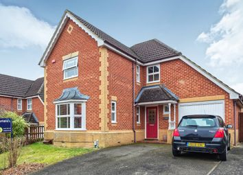 Thumbnail 4 bed detached house to rent in Decouttere Close, Church Crookham, Fleet