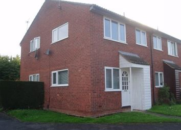 Thumbnail 1 bed end terrace house to rent in Thorpe Field Drive, Thurmaston, Leicester