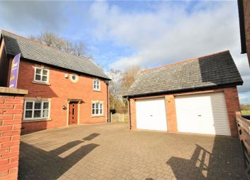 Thumbnail 4 bed detached house for sale in Chapel Gardens, Penley, Nr Wrexham