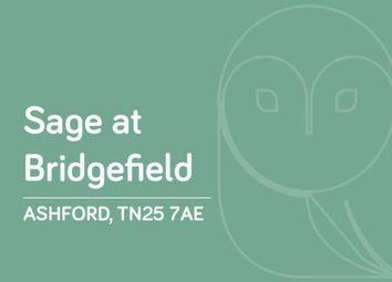 Thumbnail 3 bed semi-detached house for sale in Bridgefield, Park Farm, Ashford, Kent