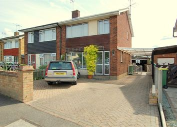 Thumbnail 3 bed semi-detached house for sale in Abbey Road, Hullbridge, Hockley, Essex