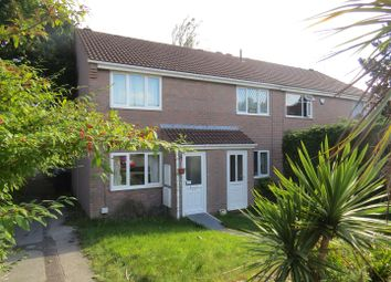 Thumbnail 2 bed terraced house to rent in Warmwell Close, Canford Heath, Poole