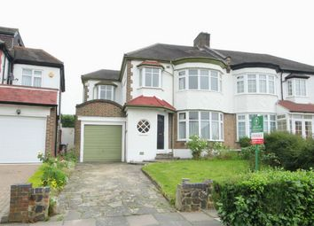 Thumbnail 4 bed semi-detached house for sale in Langside Crescent, London