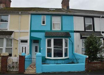Thumbnail 3 bedroom terraced house for sale in Fisher Road, Abbotsbury, Newton Abbot, Devon.