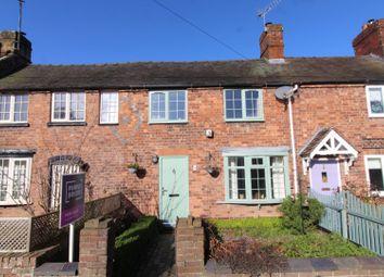 Thumbnail 2 bed terraced house for sale in Oak Terrace, Annscroft, Shrewsbury