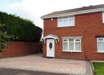 Thumbnail 2 bed property to rent in Millers Vale, Cannock