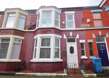 Thumbnail 3 bed terraced house for sale in Ashbourne Road, Aigburth, Liverpool
