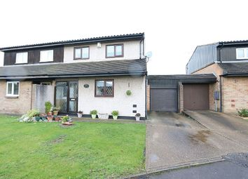 Thumbnail 3 bed semi-detached house for sale in Masefield Close, Romford, Essex