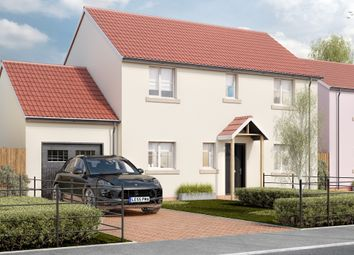 Thumbnail 4 bed detached house for sale in West Road, Lympsham