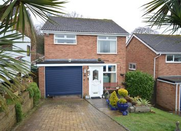 Thumbnail 3 bed detached house for sale in Bligh Close, Teignmouth, Devon