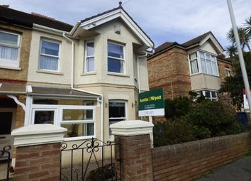 Thumbnail 3 bed property to rent in North Road, Parkstone, Poole