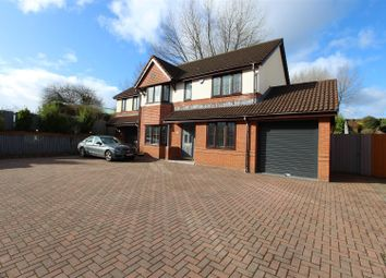 Thumbnail 5 bed detached house for sale in Hazel Grove, Caerphilly