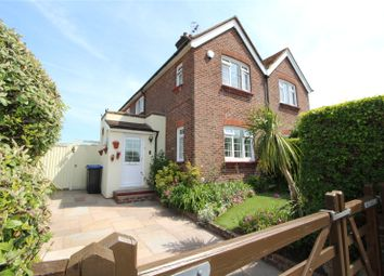 Thumbnail 3 bed semi-detached house for sale in Seldens Way, Salvington, Worthing, West Sussex