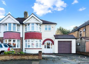Thumbnail 4 bed semi-detached house for sale in Woodlands Avenue, Worcester Park