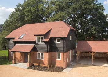 Thumbnail 4 bed detached house for sale in Razors Farm, Chineham, Basingstoke