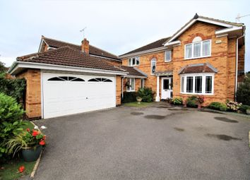 Thumbnail 4 bed detached house for sale in Strother Close, York