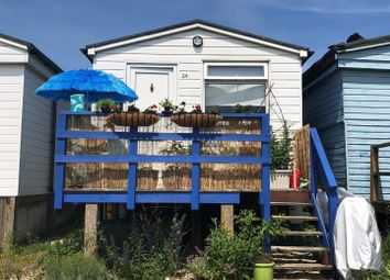 Thumbnail 1 bed detached bungalow for sale in Seasalter Beach, Faversham Road, Seasalter, Whitstable