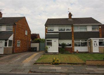 Thumbnail 3 bed semi-detached house for sale in Davenham Avenue, Prenton, Merseyside