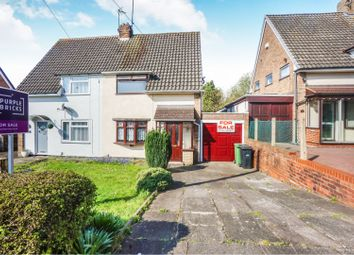 Thumbnail 2 bed semi-detached house for sale in Merryfield Road, Dudley