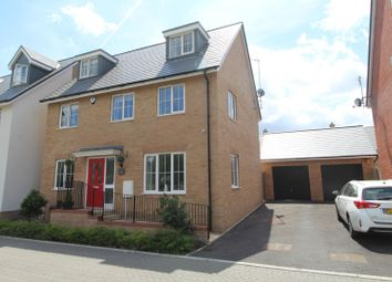 Thumbnail 5 bed detached house for sale in Newcombe Crescent, Buckingham