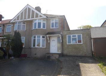 Thumbnail 4 bedroom end terrace house for sale in Parkside Avenue, Barnehurst, Kent