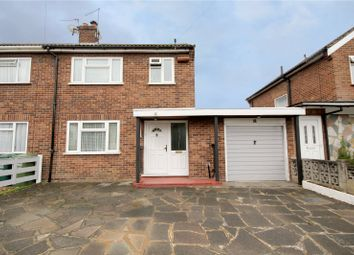 Thumbnail 3 bed semi-detached house for sale in Cherry Way, Shepperton, Surrey