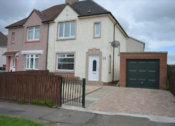 Thumbnail 2 bed semi-detached house for sale in Orbiston Drive, Bellshill