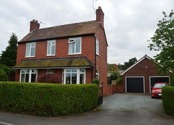 Thumbnail 3 bedroom detached house for sale in Quarry Bank Road, Market Drayton