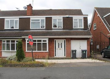 Thumbnail 5 bed semi-detached house for sale in Brailes Drive, Sutton Coldfield, Birmingham