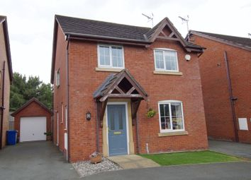 Thumbnail 4 bed detached house for sale in Top Farm Road, Wrexham