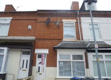 Thumbnail 3 bedroom terraced house for sale in Rosebery Road, Smethwick