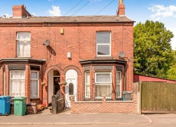 Thumbnail 3 bedroom end terrace house for sale in Woodland Avenue, Gorton, Manchester, .