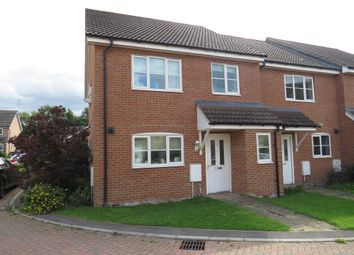 Thumbnail 4 bed end terrace house for sale in Kent Drive, Watlington, King's Lynn